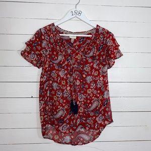 Knox Rose blouse, sz S